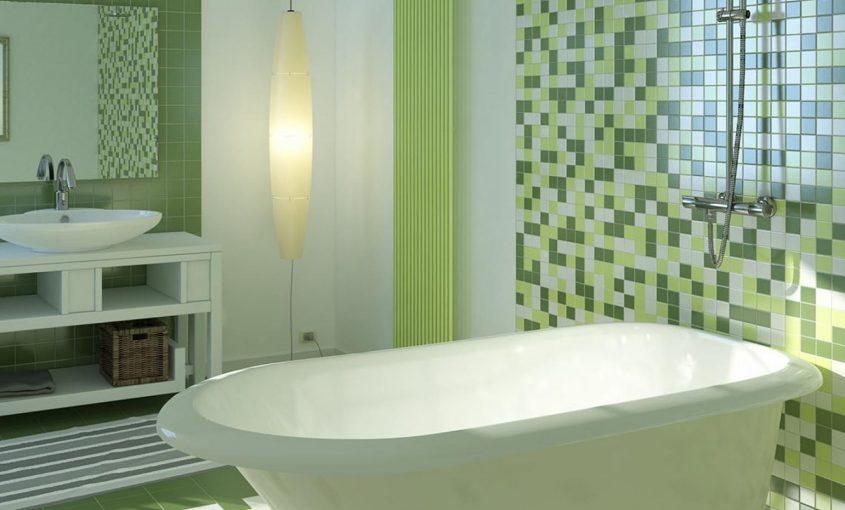3 idee moderne per bagni colorati da idrotecnica vinella - Piastrelle da bagno moderne ...