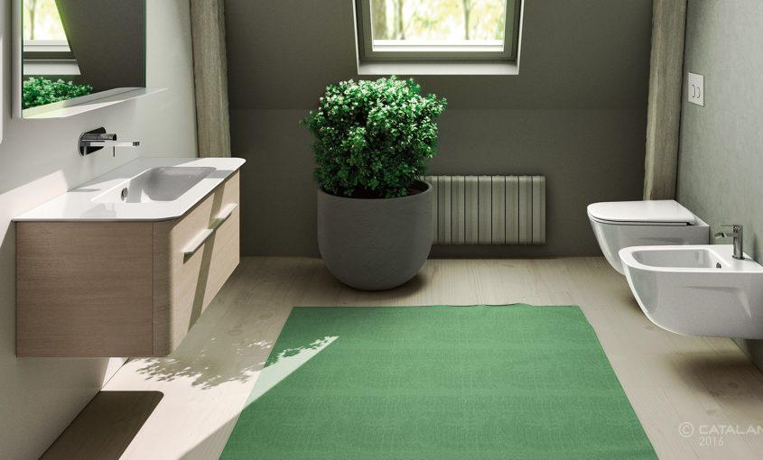 Le regole per arredare il bagno in mansarda idrotecnica