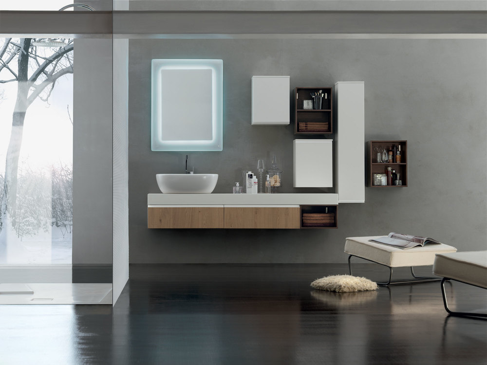 Bagno Lungo E Stretto : Consigli utili per arredare un bagno lungo e stretto idrotecnica